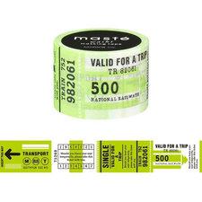 Washi tape Masté ticket