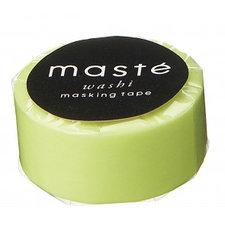 Washi tape Masté neon geel