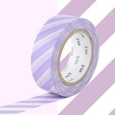 MT Masking tape strepen lila