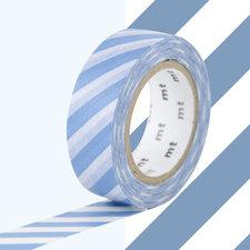 MT Masking tape strepen jeans blauw