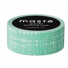 Masking tape Masté groenbrush stroke