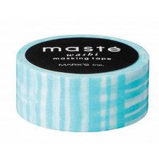 Masking tape Masté hemelsblauwe strepen