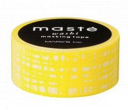 Masking tape Masté yellow-brush stroke