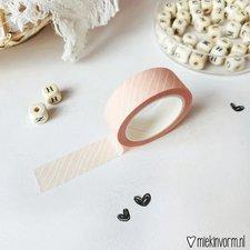 MIEKinvorm Masking tape diagonale streep