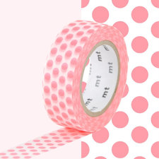 MT Masking tape dot milk strawberry