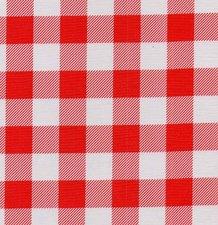 80x120cm Restje Mexicaans tafelzeil boerenruit rood