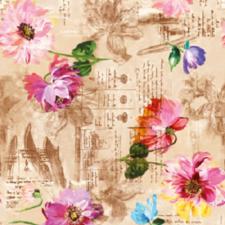 95x140cm Restje tafelzeil fleur de France