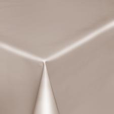 90x140cm Restje tafelzeil beige/grijs effen glans
