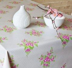 50x140cm Restje tafelzeil roos boeketje