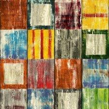 Breed plakfolie geschilderd hout 90 cm