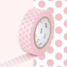 MT Masking tape aardbeien melk stippen