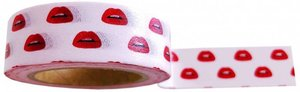 Studio Stationery Washi tape lips