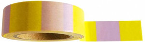 Studio Stationery Washi tape blok geel/lila