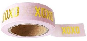 Studio Stationery Washi tape roze XOXO