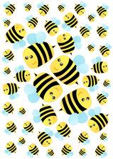Fietsstickers bijen