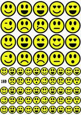 Fietsstickers smileys