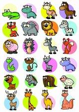 Fietsstickers verschillende dieren