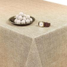 95x140cm Restje tafelzeil linnux beige