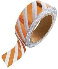 Studio Stationery Washi tape koper metallic streep