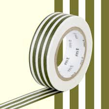 MT Masking tape border olive