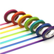 MT Masking tape rainbow set