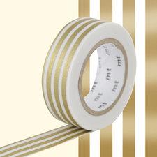 MT Masking tape border gold