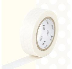 MT Masking tape witte stippen