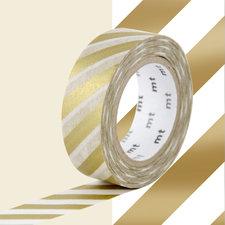 MT Masking tape strepen goud