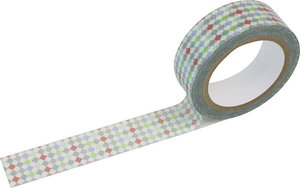 Masking tape Shinzi Katoh - Colourful Diamonds