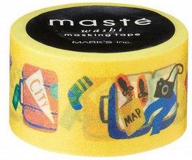 Masking tape Masté reiskoffer