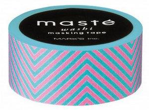 Masking tape Masté roze neon strepen