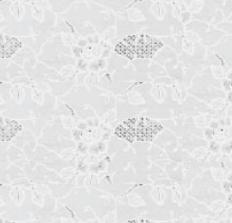 35x140 Restje tafelzeil rosa kant wit