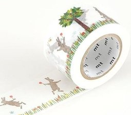 MT Masking tape kasaneru rabbit & squirrel