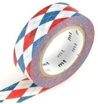 MT Masking tape argyle red