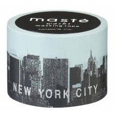 Washi tape Masté roze New York City