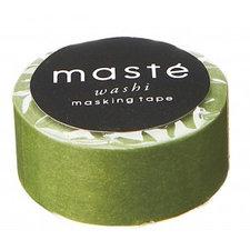 Washi tape Masté olijf groen