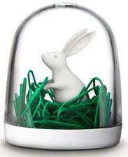 Qualy paperclip dispenser konijn