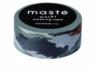 Masking tape Masté camouflage groen