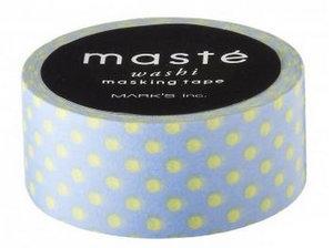 Masking tape Masté stipjes lavendelblauw