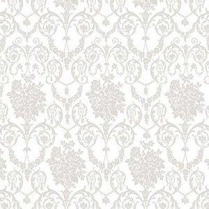 95x140cm Restje tafelzeil Barok gotisch wit