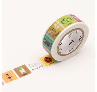 MT Masking tape voor kids insecten