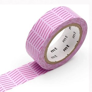 MT Masking tape diagonal purple