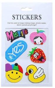 Stickers Misfits smiley badeend
