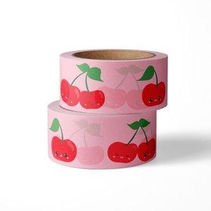 Studio Inktvis Masking tape Kersen