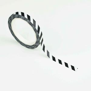 Studio Ins & Outs Masking tape SLIM Black stripes