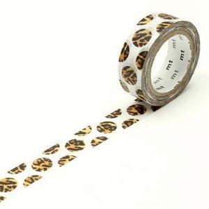 MT Masking tape dot luipaard